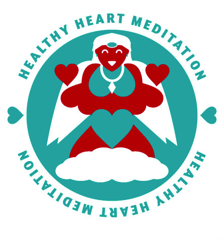 Healthy Heart Meditation Graphiuc