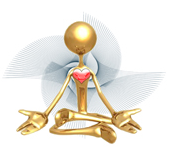 healthy heart meditation logo